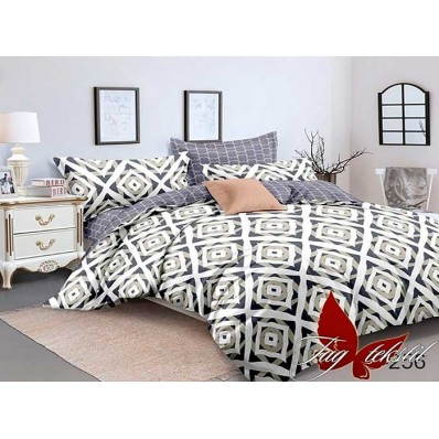 Комплект постельного белья с компаньоном TM Tag-tekstil сатин люкс S256