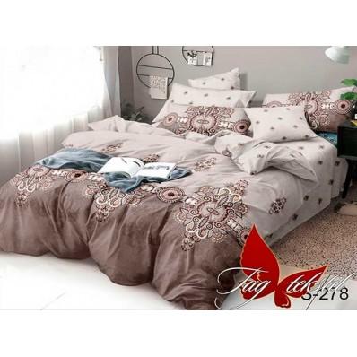 Комплект постельного белья с компаньоном TM Tag-tekstil сатин люкс S278