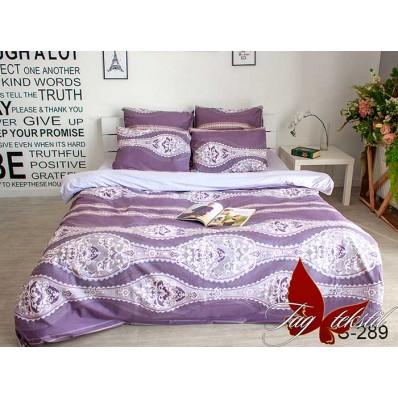 Комплект постельного белья с компаньоном TM Tag-tekstil сатин люкс S289