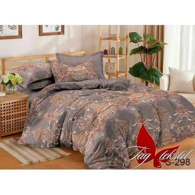 Комплект постельного белья с компаньоном TM Tag-tekstil сатин люкс S298