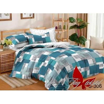 Комплект постельного белья с компаньоном TM Tag-tekstil сатин люкс S306