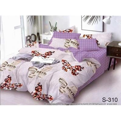 Комплект постельного белья с компаньоном TM Tag-tekstil сатин люкс S310