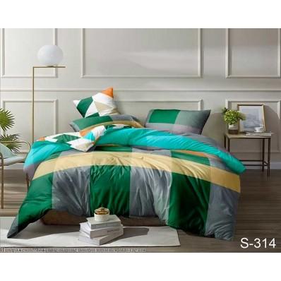 Комплект постельного белья с компаньоном TM Tag-tekstil сатин люкс S314