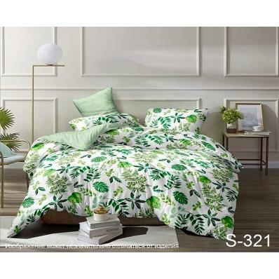 Комплект постельного белья с компаньоном TM Tag-tekstil сатин люкс S321