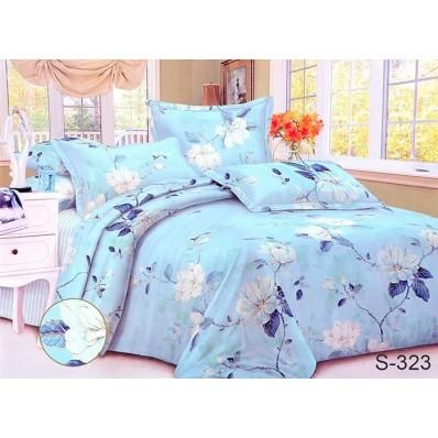 Комплект постельного белья с компаньоном TM Tag-tekstil сатин люкс S323