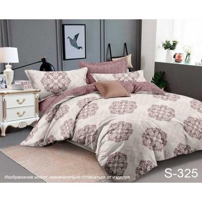 Комплект постельного белья с компаньоном TM Tag-tekstil сатин люкс S325
