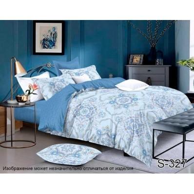 Комплект постельного белья с компаньоном TM Tag-tekstil сатин люкс S327