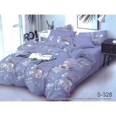 Комплект постельного белья с компаньоном TM Tag-tekstil сатин люкс S328