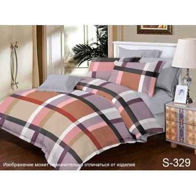 Комплект постельного белья с компаньоном TM Tag-tekstil сатин люкс S329