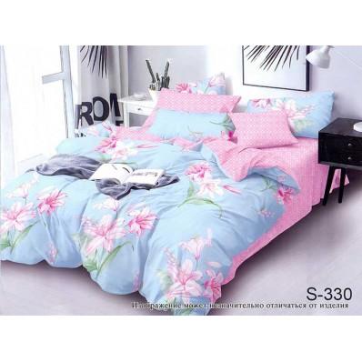Комплект постельного белья с компаньоном TM Tag-tekstil сатин люкс S330