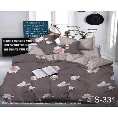 Комплект постельного белья с компаньоном TM Tag-tekstil сатин люкс S331