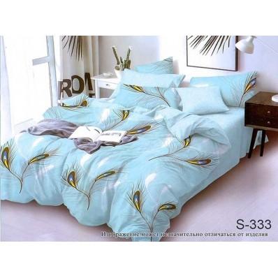 Комплект постельного белья с компаньоном TM Tag-tekstil сатин люкс S333