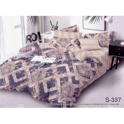 Комплект постельного белья с компаньоном TM Tag-tekstil сатин люкс S337
