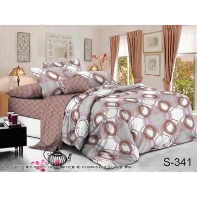 Комплект постельного белья с компаньоном TM Tag-tekstil сатин люкс S341