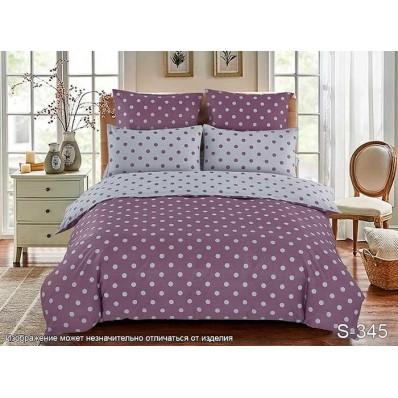 Комплект постельного белья с компаньоном TM Tag-tekstil сатин люкс S345