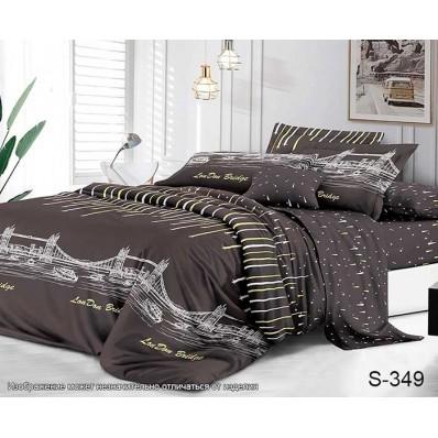 Комплект постельного белья с компаньоном TM Tag-tekstil сатин люкс S349