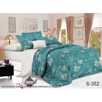 Комплект постельного белья с компаньоном TM Tag-tekstil сатин люкс S352