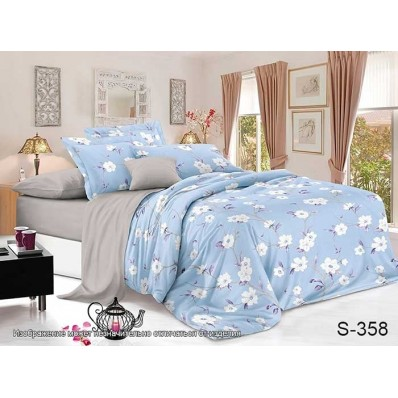 Комплект постельного белья с компаньоном TM Tag-tekstil сатин люкс S358