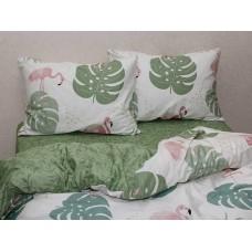Комплект постельного белья с компаньоном TM Tag-tekstil сатин люкс S361
