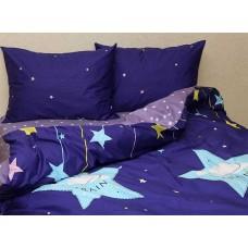 Комплект постельного белья с компаньоном TM Tag-tekstil сатин люкс S366