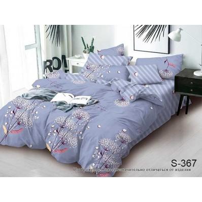 Комплект постельного белья с компаньоном TM Tag-tekstil сатин люкс S367