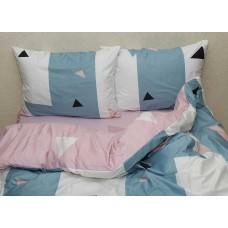 Комплект постельного белья с компаньоном TM Tag-tekstil сатин люкс S368