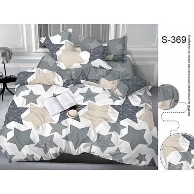 Комплект постельного белья с компаньоном TM Tag-tekstil сатин люкс S369