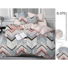 Комплект постельного белья с компаньоном TM Tag-tekstil сатин люкс S370