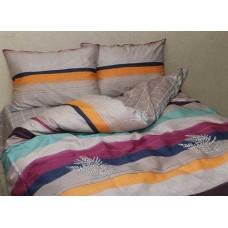 Комплект постельного белья с компаньоном TM Tag-tekstil сатин люкс S371