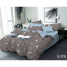 Комплект постельного белья с компаньоном TM Tag-tekstil сатин люкс S378