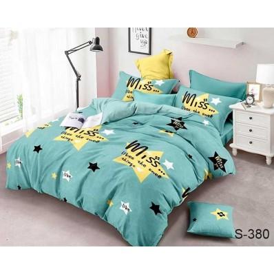 Комплект постельного белья с компаньоном TM Tag-tekstil сатин люкс S380