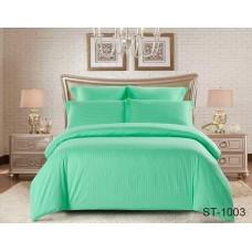 Комплект постельного белья TM Tag-tekstil страйп-сатин ST-1003