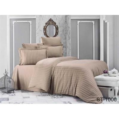 Комплект постельного белья TM Tag-tekstil страйп-сатин ST-1006