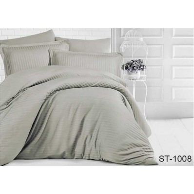 Комплект постельного белья TM Tag-tekstil страйп-сатин ST-1008