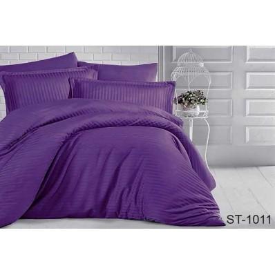 Комплект постельного белья TM Tag-tekstil страйп-сатин ST-1011