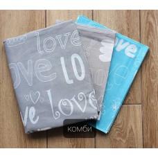 Постельное белье Tirotex бязь TRX00165 Love-голубой